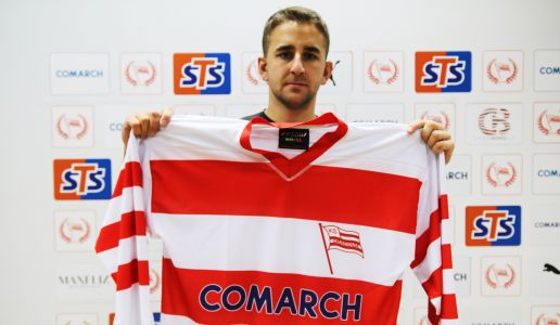 DAVID GOODWIN BECOMES NEW COMARCH CRACOVIA PLAYER!