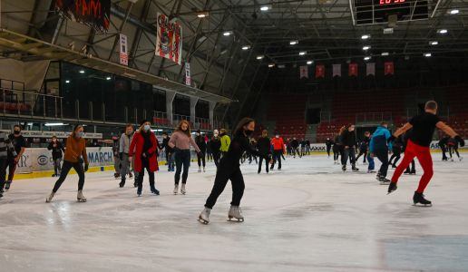 Ice skating sessions cancelled